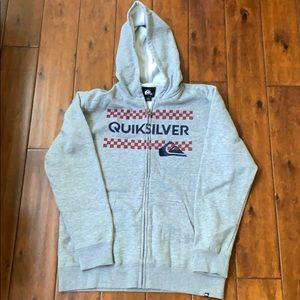 Quicksilver full zip hoodie